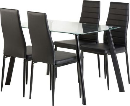 Abbey Dining Set Inc 4 Chairs